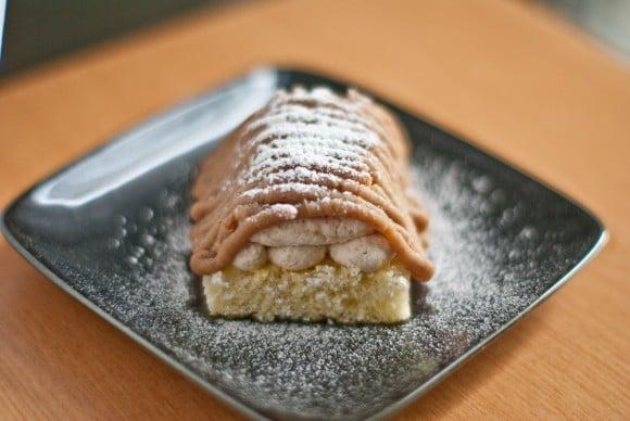 meet d7ad0 8805d Mont Blanc (chestnut cream cake)