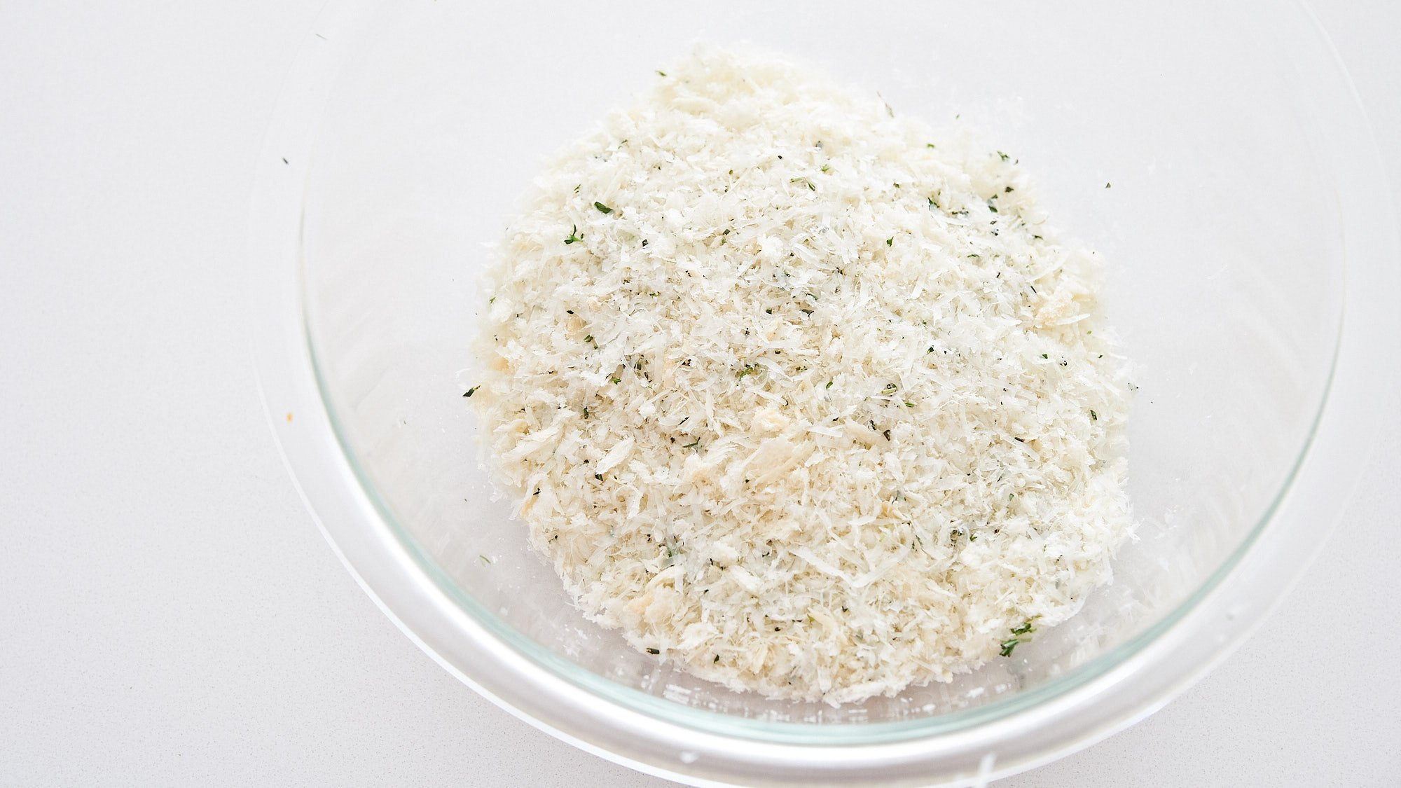 Seasoned breadcrumbs for Chicken Parmesan