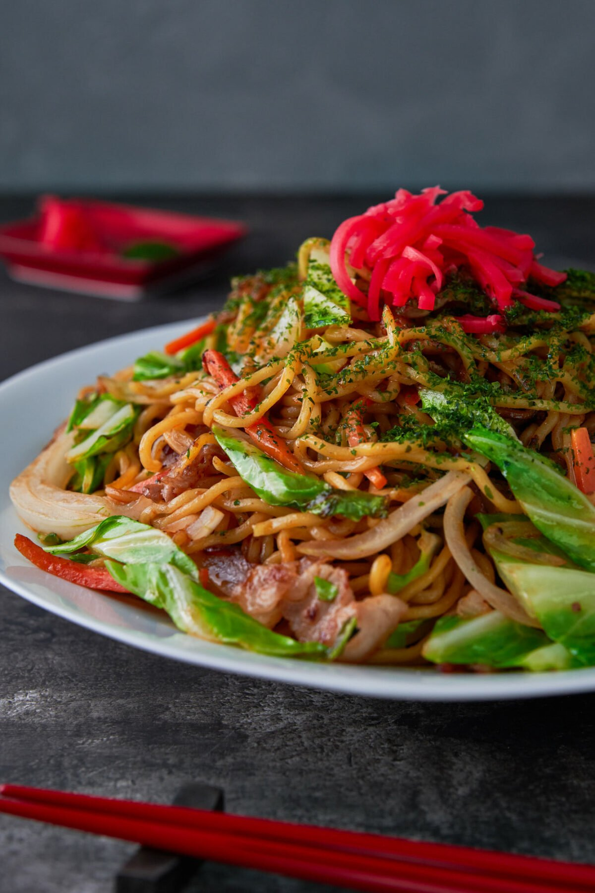 This Yakisoba is an easy Japanese noodle stir-fry that comes together in just 10 mintues from ingredients that are available everywhere.