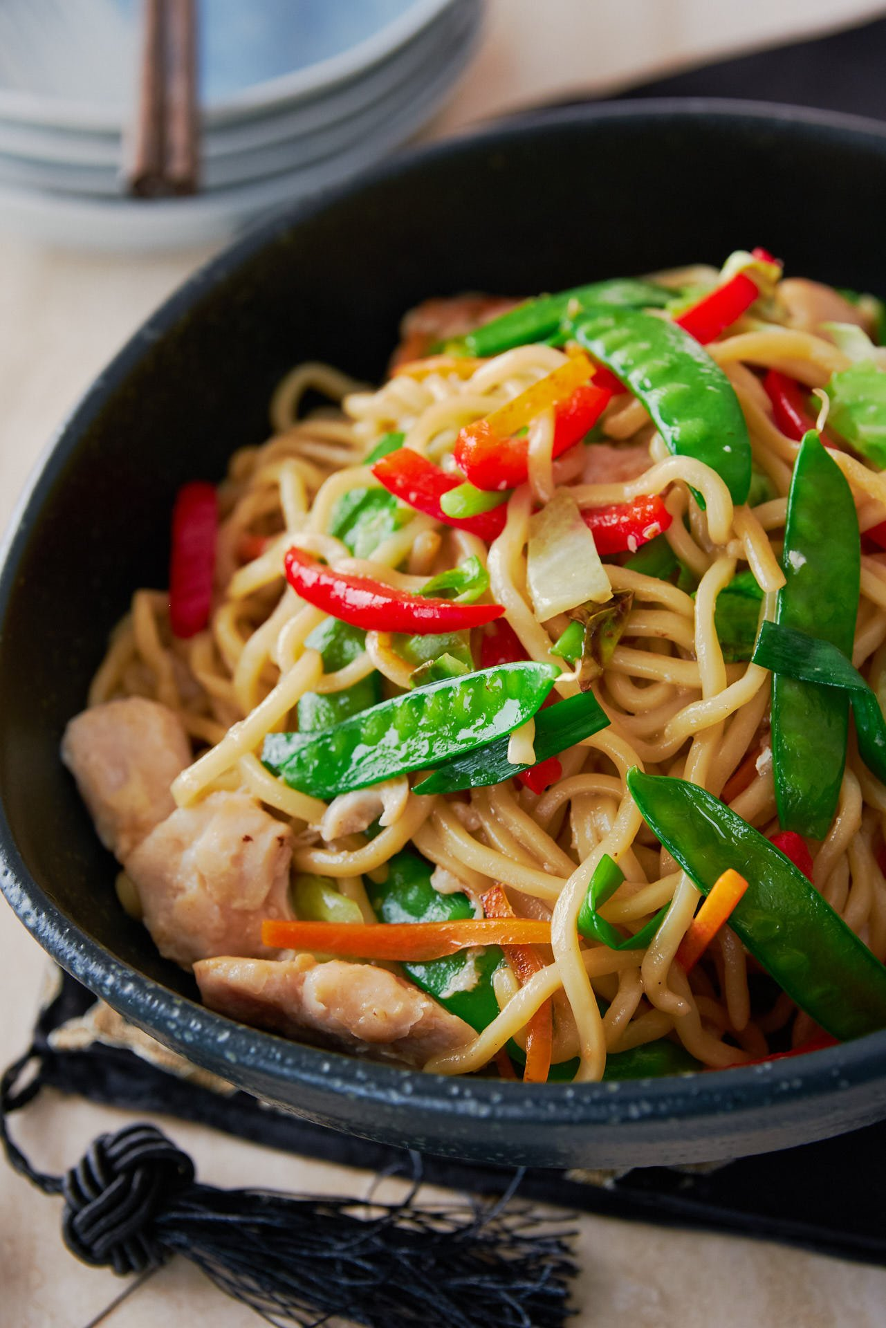 Best Chicken Chow Mein Recipe (炒面)