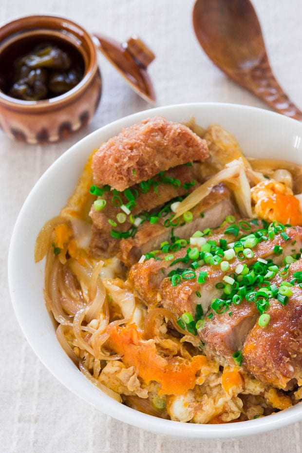 Katsudon Recipe Pork Cutlet Rice Bowl