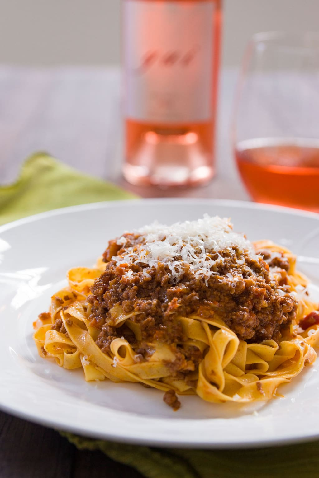 Ragù Alla Bolognese is a delightful slow-cooked meat sauce from Bologna that goes beautifully with some tagliatelle. Slowly cooking a blend of beef and pork is the trick to an ultra flavorful Bolognese.