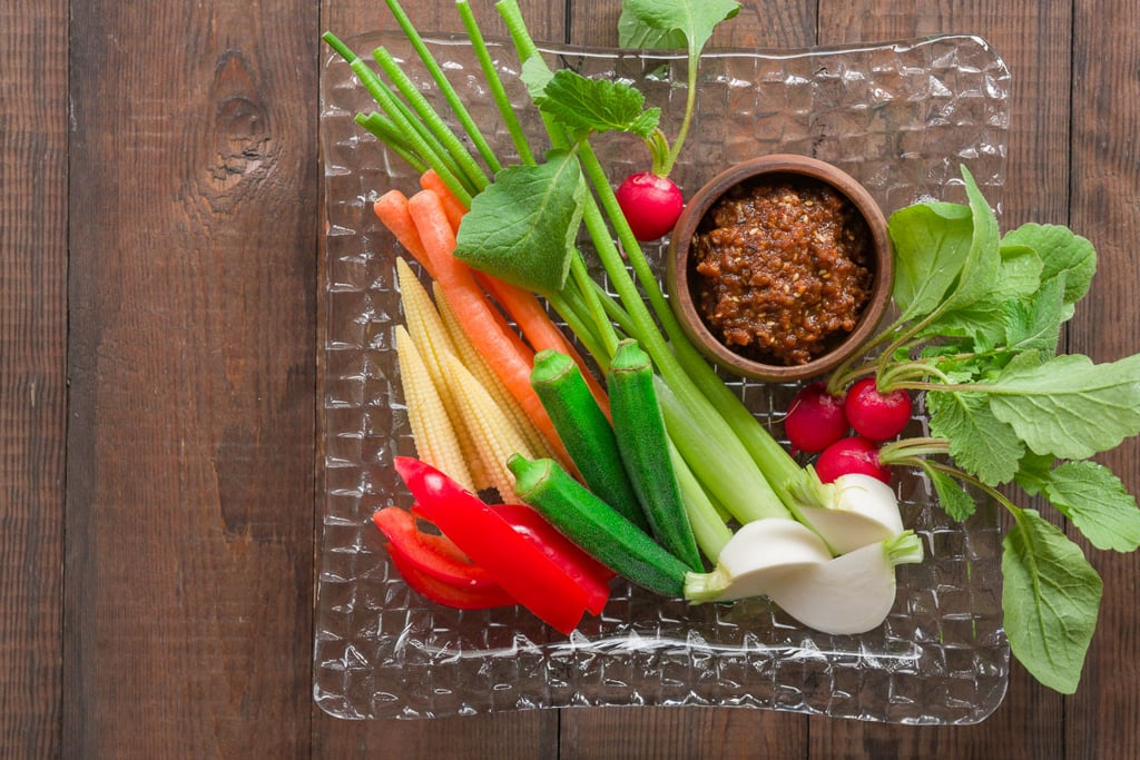 Niku miso is the perfect dip for spring vegetables.