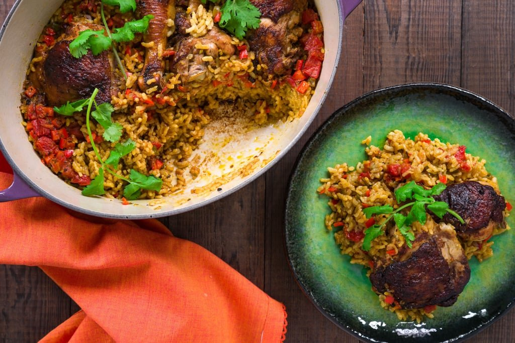 Arroz con Pollo is a delicious one-pot meal that's easy and delicious. Here are my tricks for making it even better.