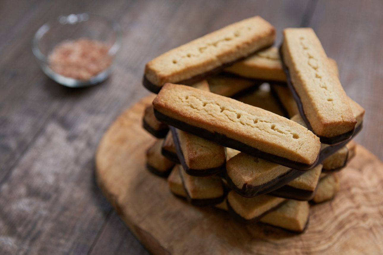 Loaded with umami, these buttery shortbread cookies are enhanced by the addition of an unusual ingredient.