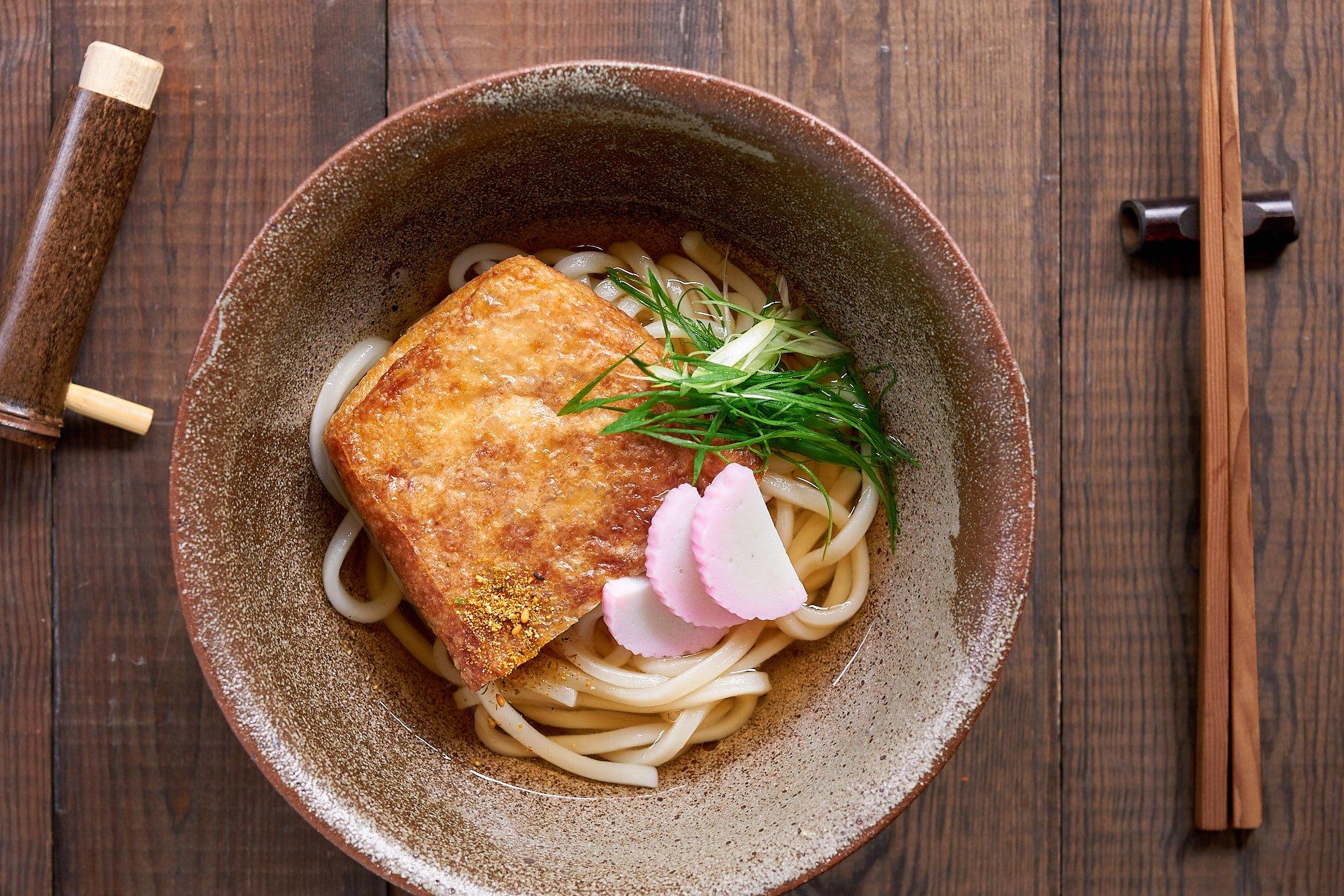 Kitsune Udon Recipe (きつねうどん) - Udon with Savory Sweet ...