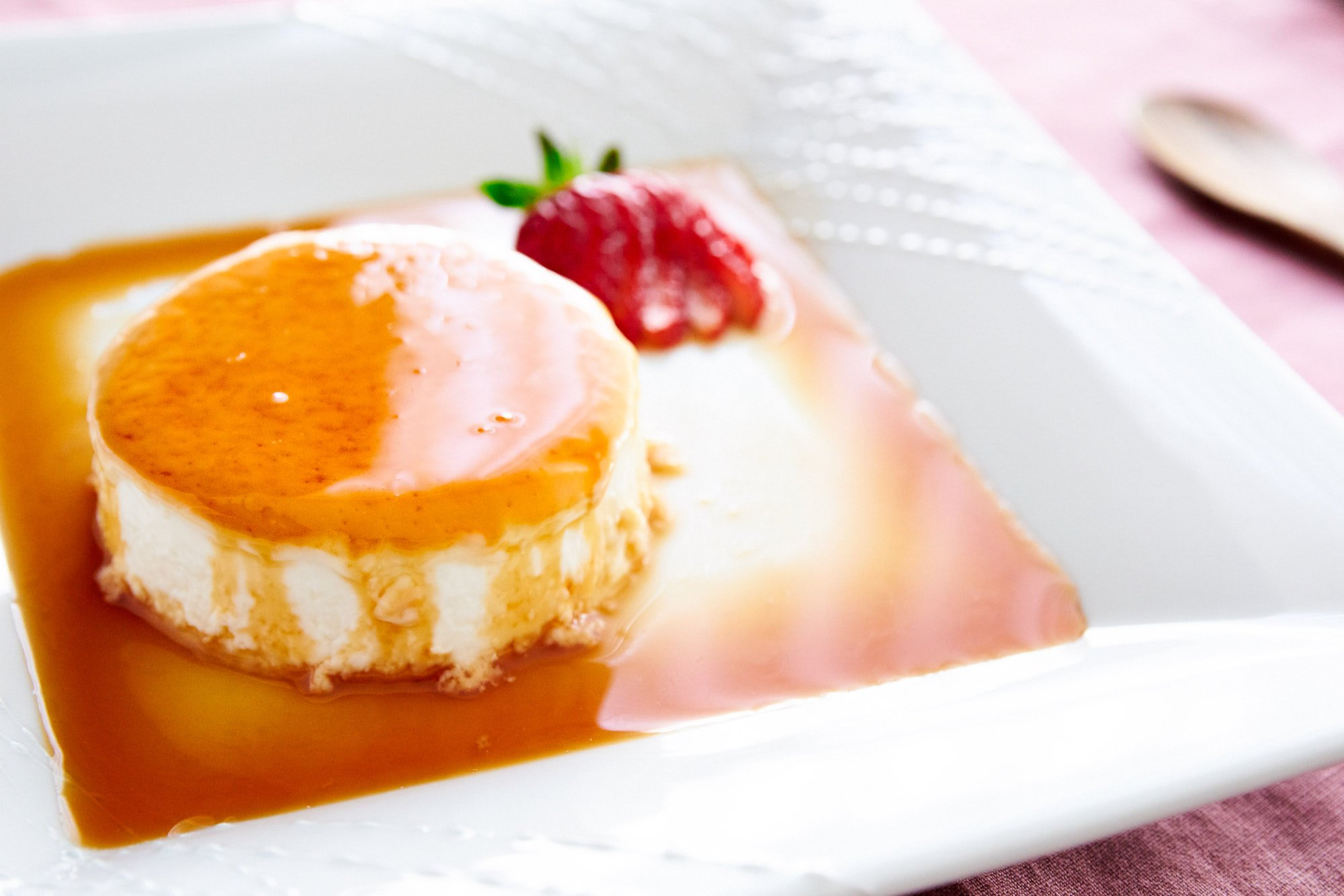This creamy panna cotta melts in your mouth like butter.