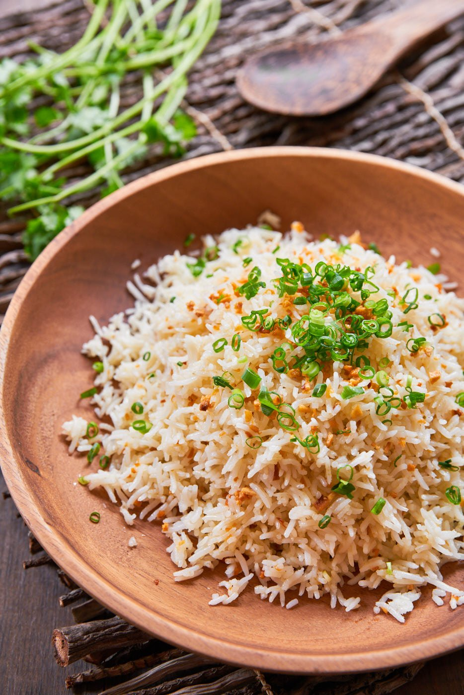 With just two ingredients, it doesn't get much simpler than this classic Filipino Sinangag (garlic fried rice). The perfect way to revive some day-old rice.