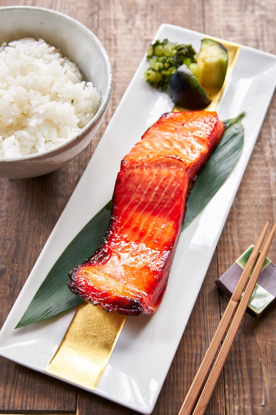Cured in a sweet and savory miso marinade with just 3 basic ingredients, this easy Miso Salmon recipe is ludicrously good.