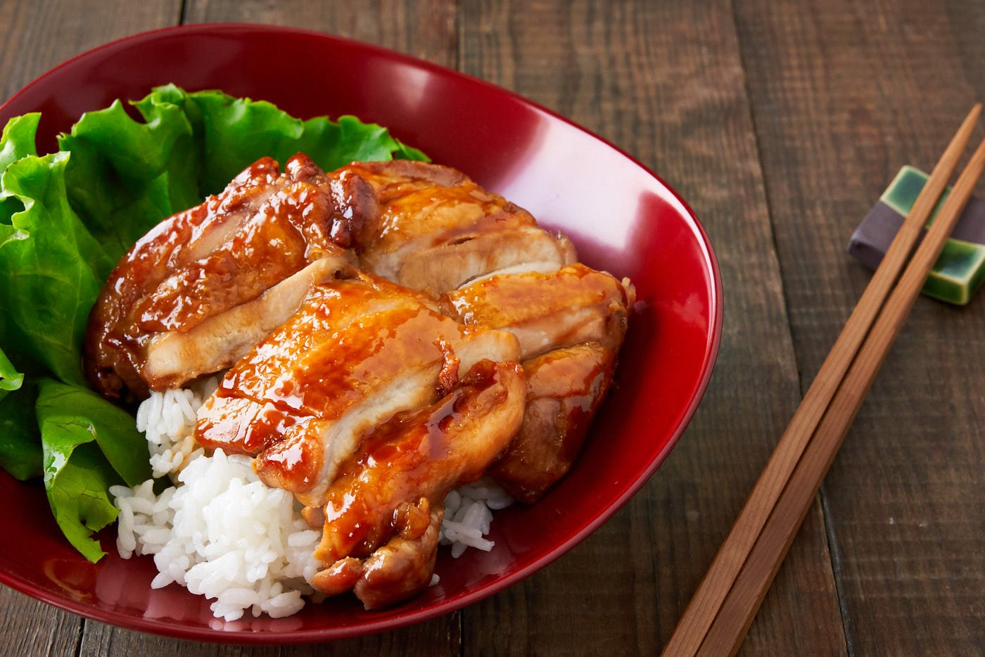 A glossy mirrorlike shine is the hallmark of any great Japanese chicken teriyaki, and this one comes together from just 4 simple ingredients.