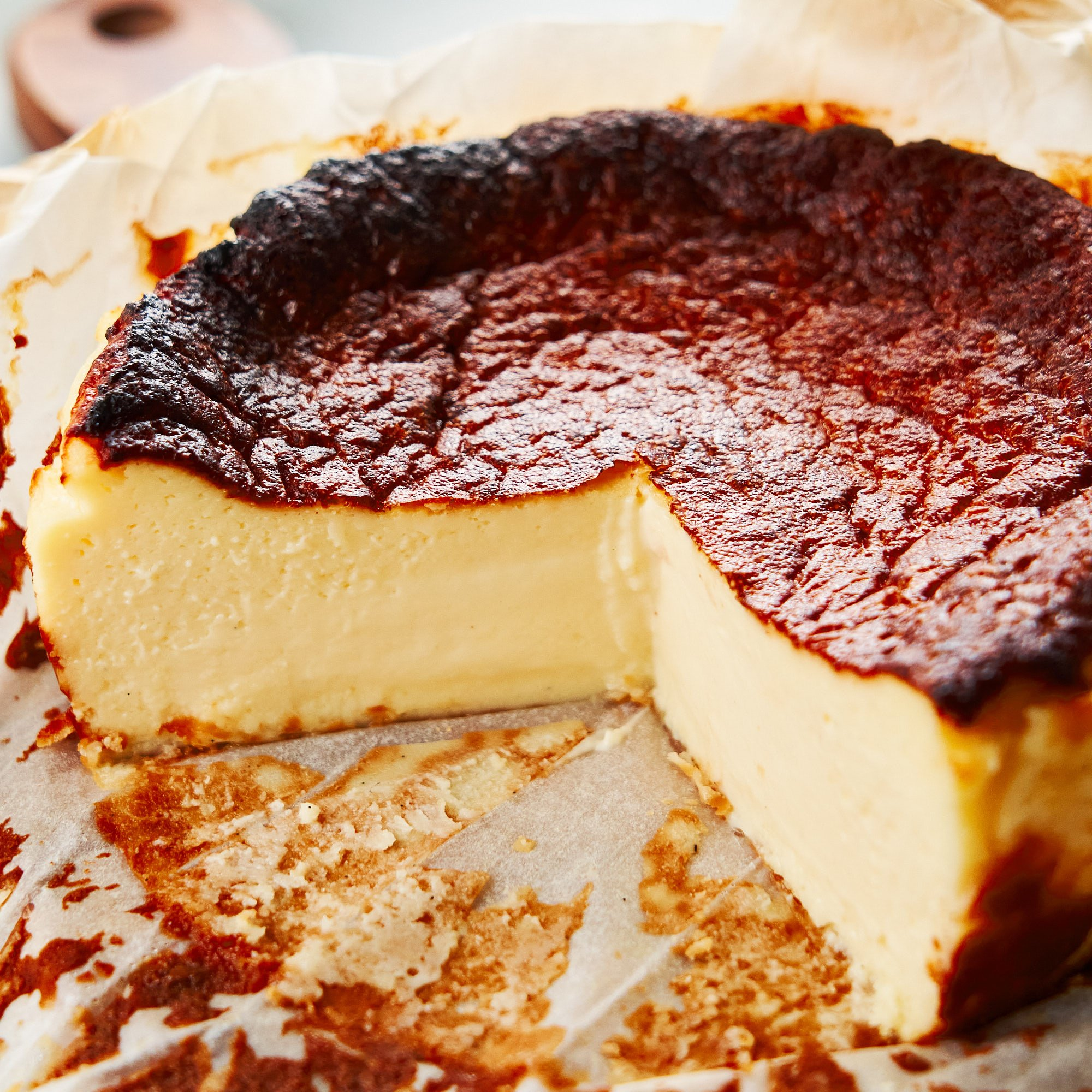 Easy Burnt Basque Cheesecake Recipe Tarta De Queso