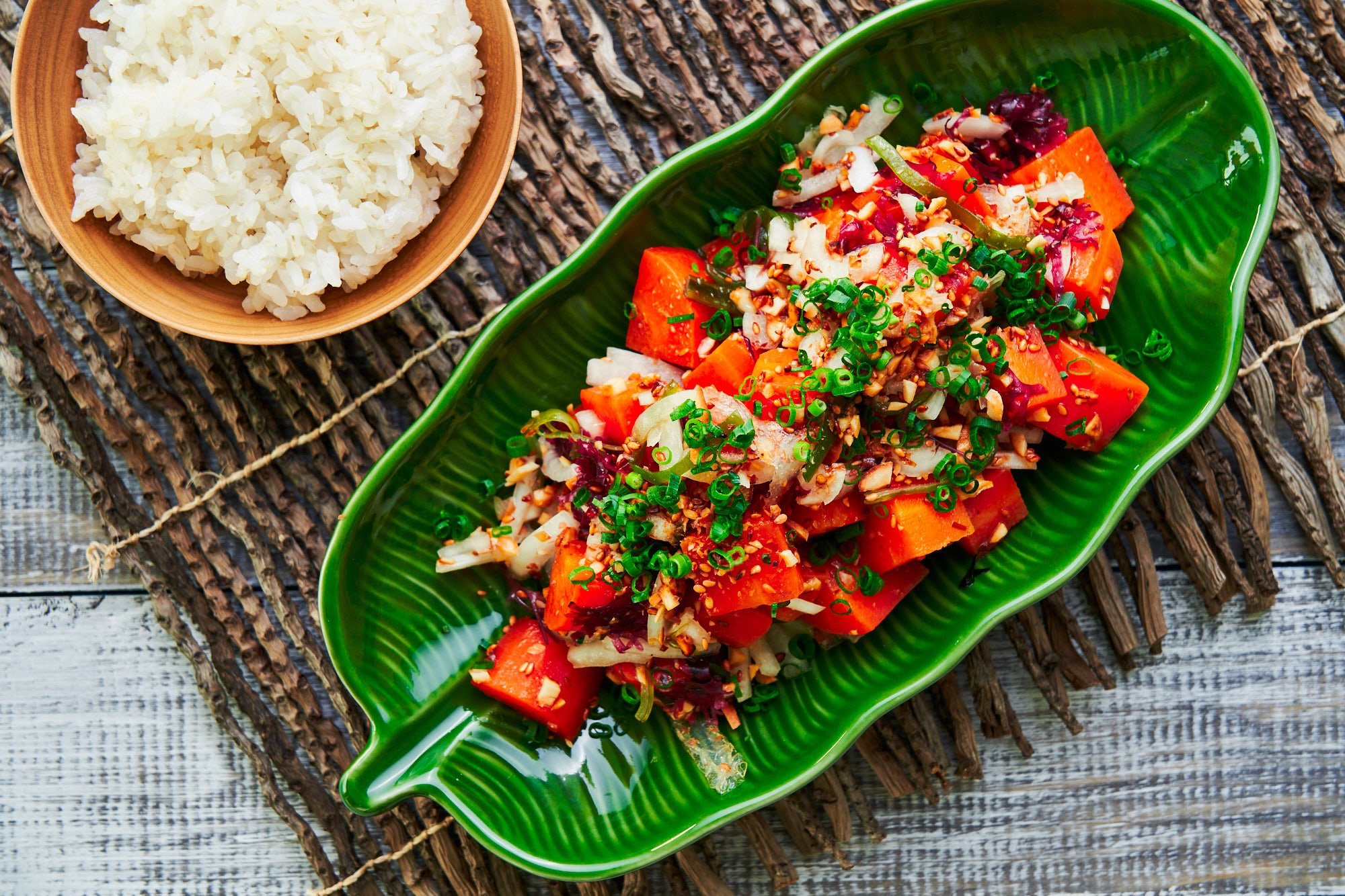 This vegan-friendly Hawaiian Poke has all the flavors and textures of the original without any of the guilt.