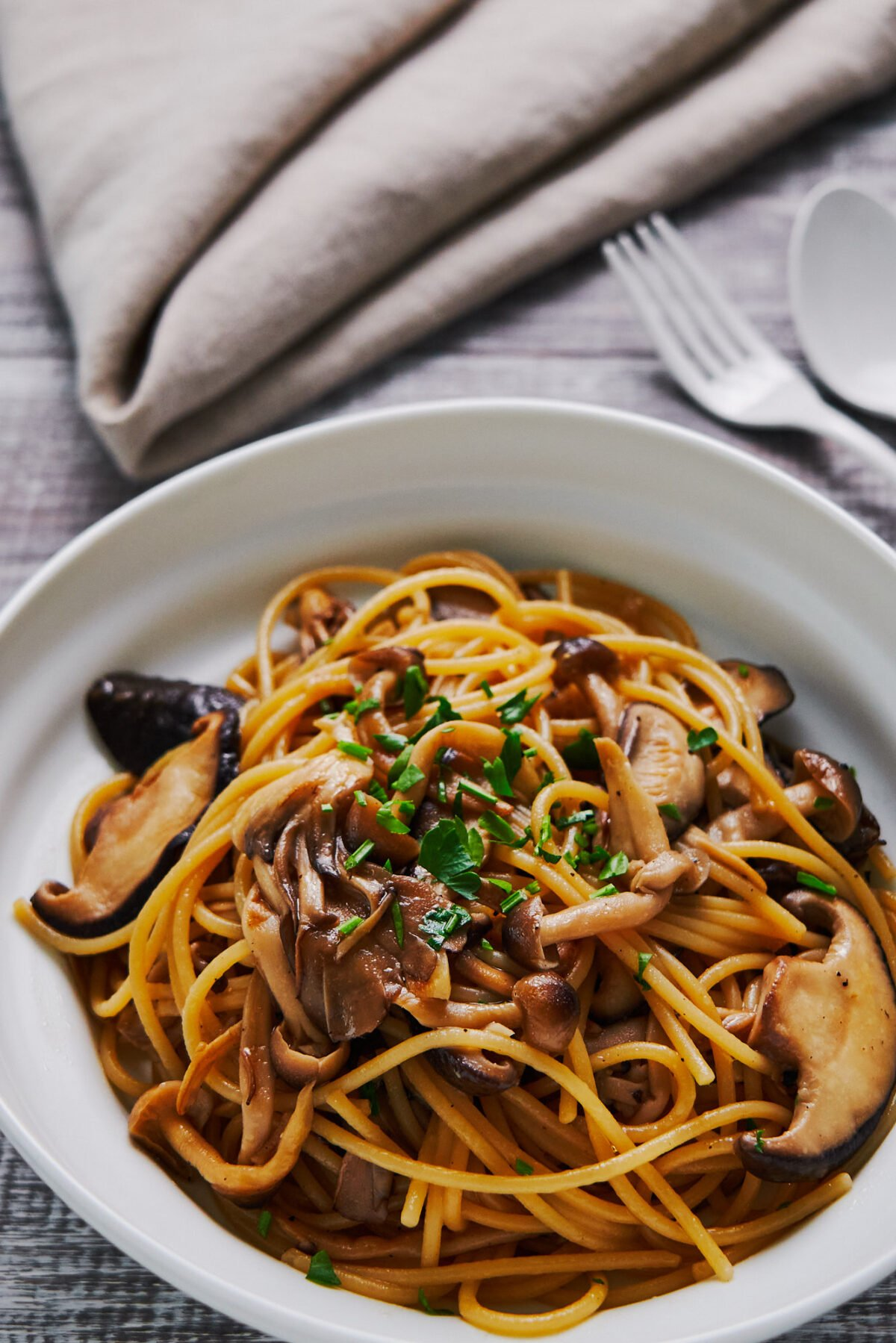If you have butter, soy sauce, and spaghetti in your pantry, you can make this mouthwatering Japanese pasta.